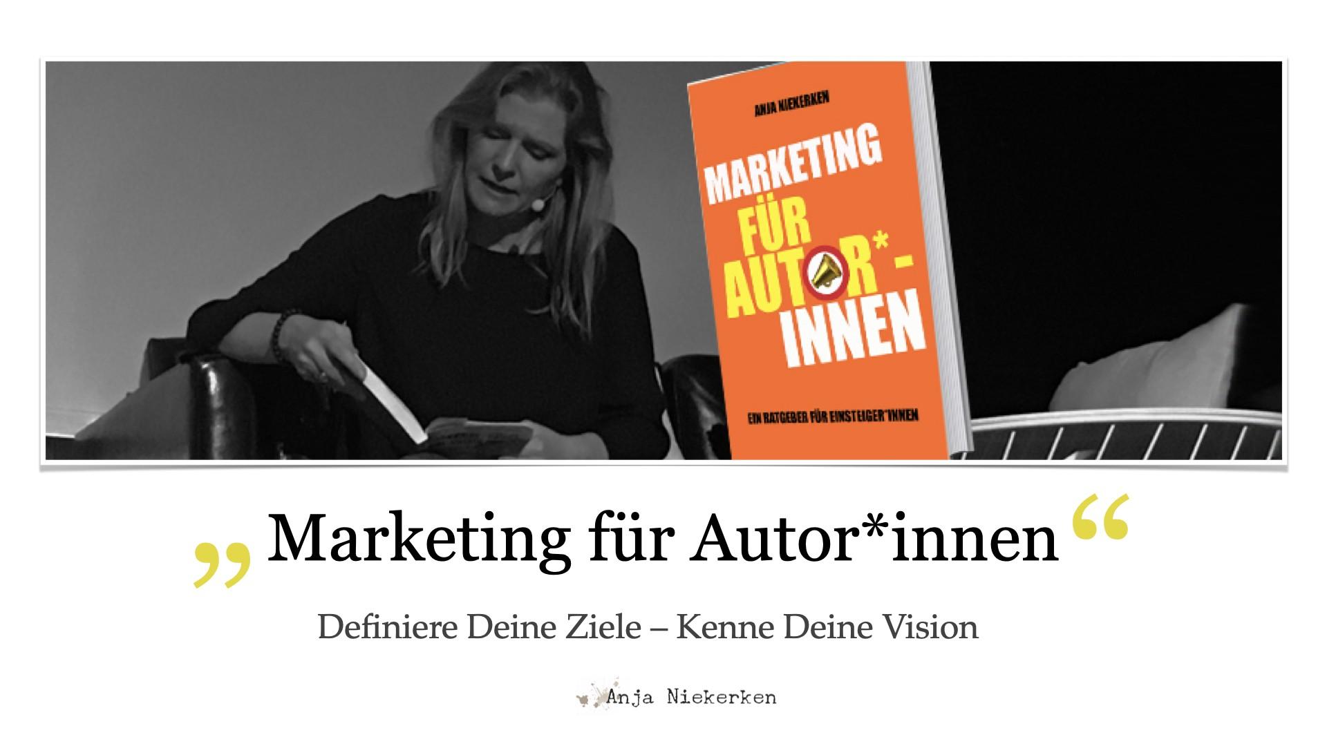 """Vorschau auf den Onlinekurs """"Marketing für Autor*innen"""""""
