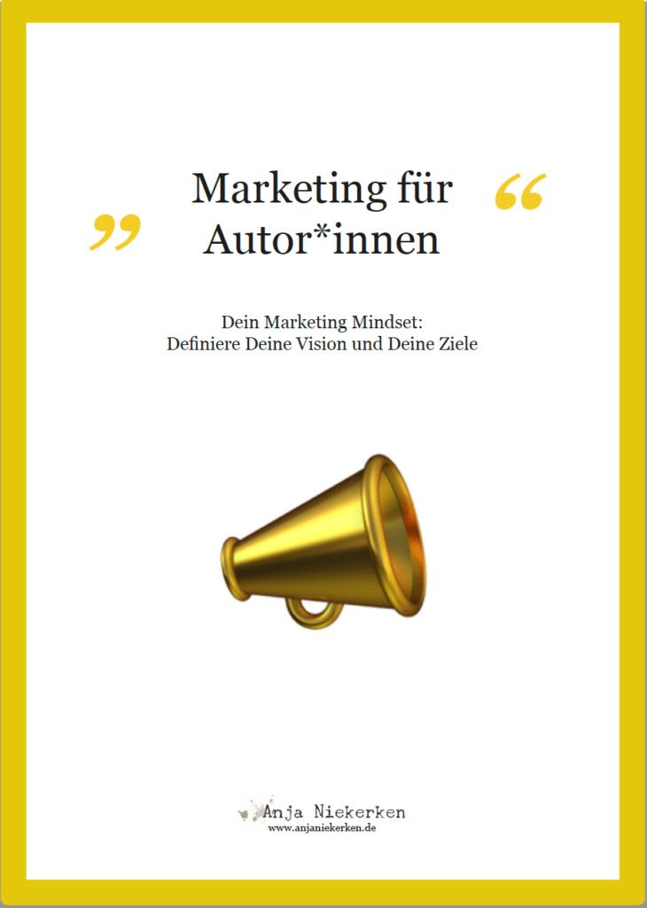 Titel Arbeitsblatt Marketing Mindset fuer Autoren
